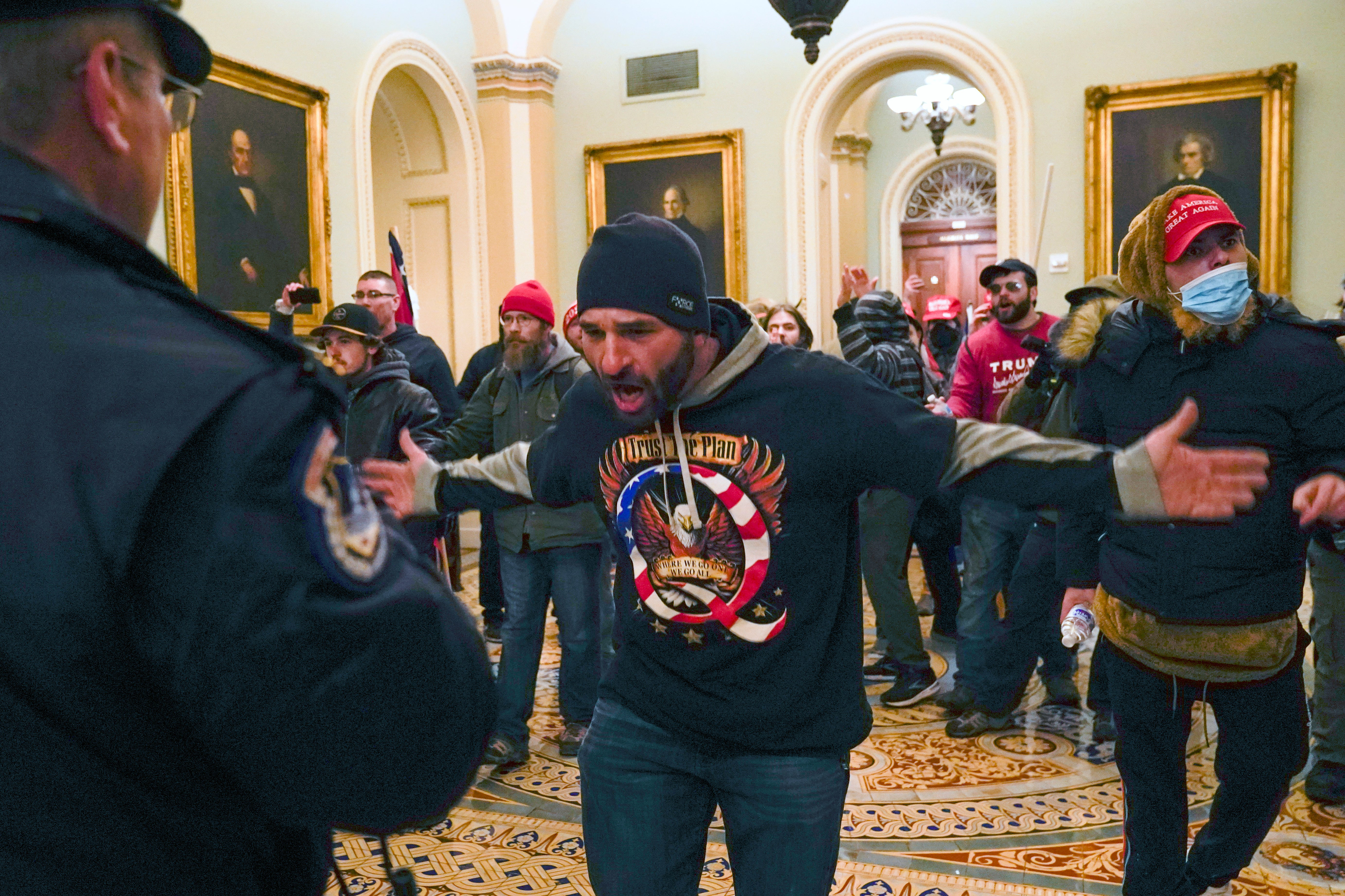EXPLAINER: Who's been charged in the deadly Capitol siege?