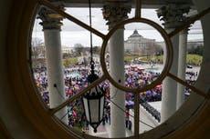 CNN tuvo la audiencia mas grande de su historia durante los disturbios en el Capitolio