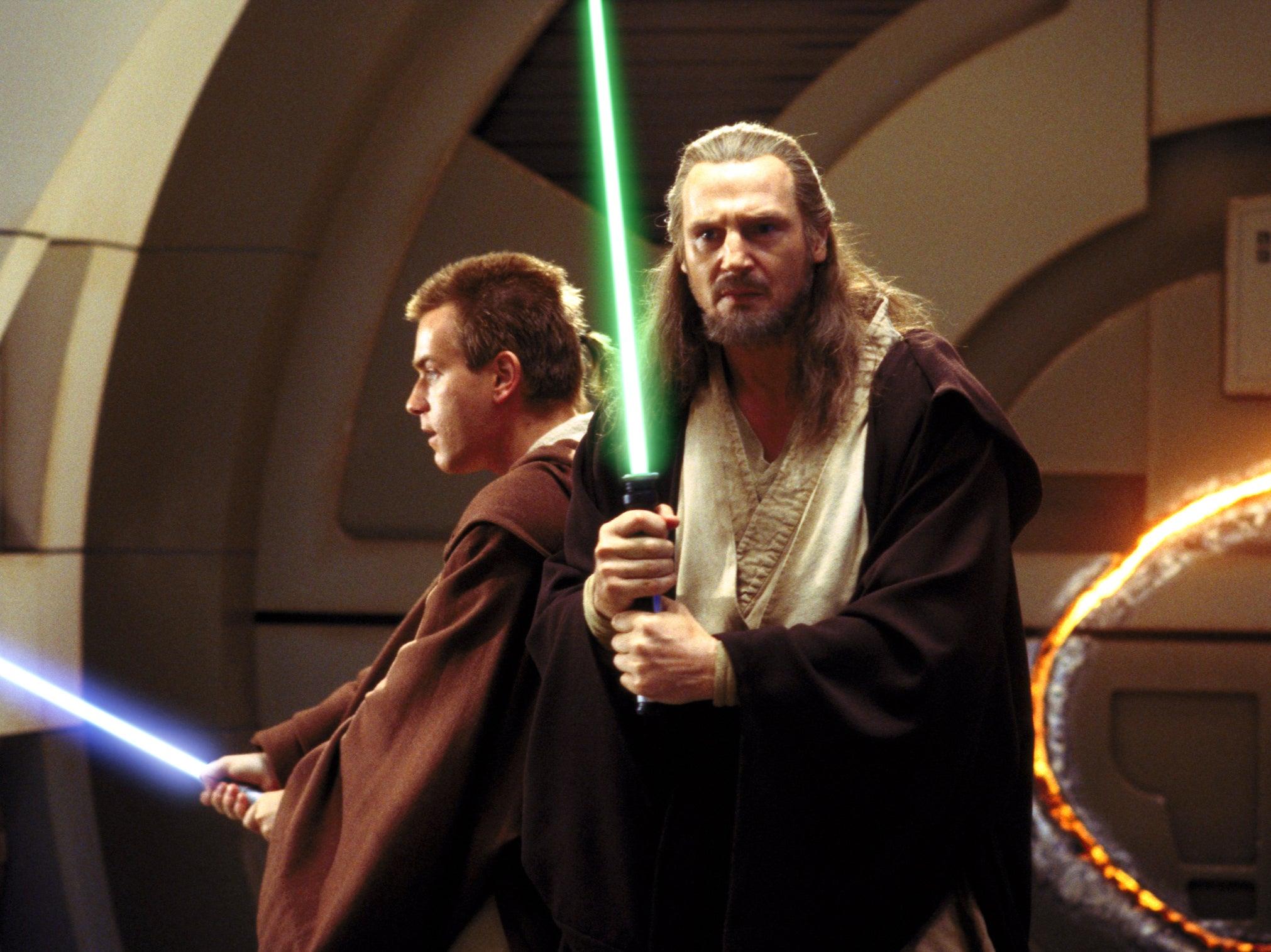 Liam Neeson says he's 'up for' return to Star Wars in Obi-Wan Kenobi series