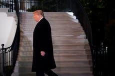 Cámara baja acusa a Trump por incitar insurrección en el Capitolio