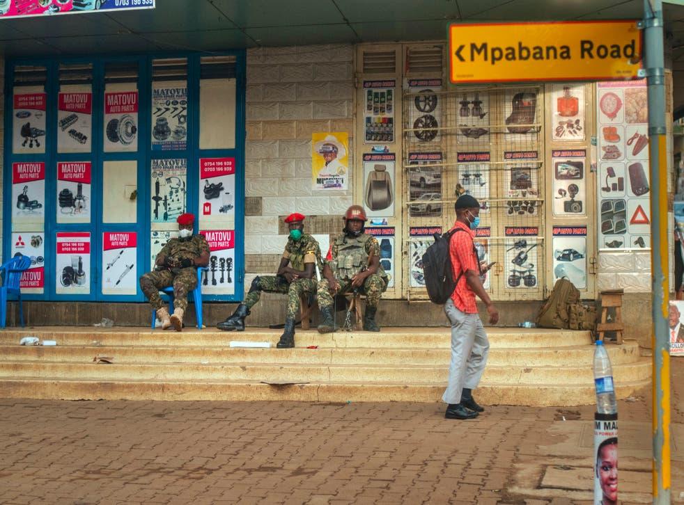 APTOPIX Uganda Election