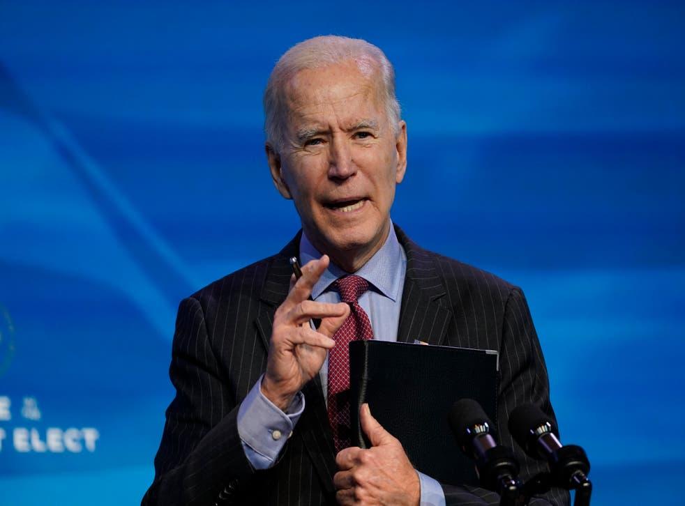 Virus Outbreak Biden