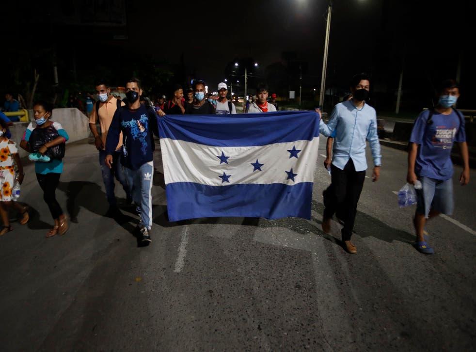 AMC-INM HONDURAS-MIGRANTES