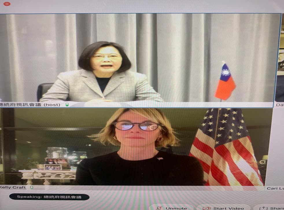 Taiwan US Ambassador