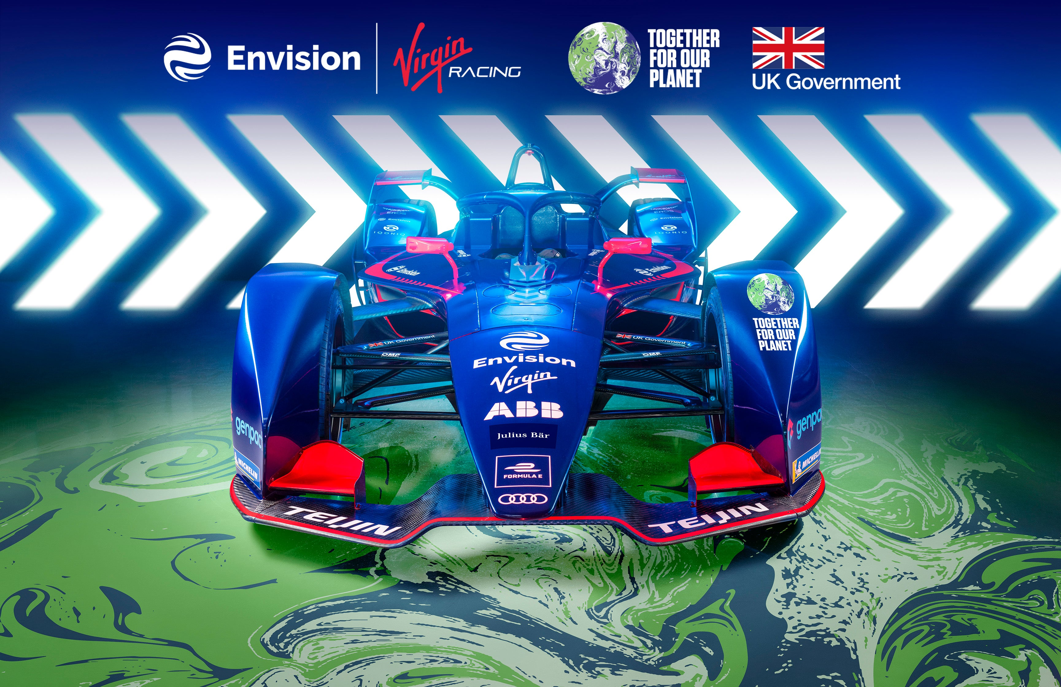 Formula E motor-racing team to promote electric vehicles ahead of UN climate talks