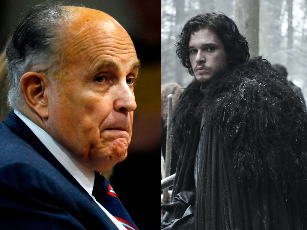 Rudy Giuliani said Game of Thrones was a 'documentary' about 'fictitious medieval England