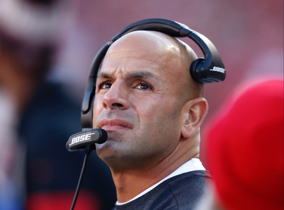 Robert Saleh is the new head coach of the New York Jets