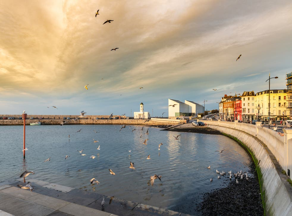<p>Margate harbour was one of the areas searched  by the RNLI </p>