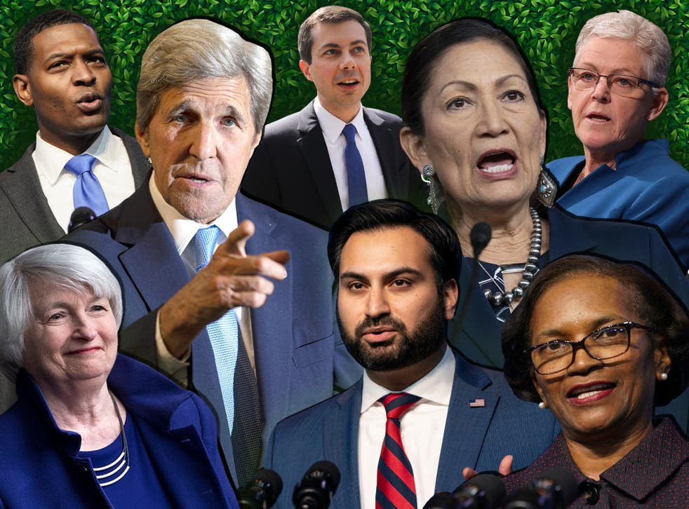 Meet Biden's climate crisis army   The Independent