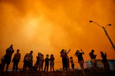 Ordenan evacuar a 25.000 chilenos por incendio forestal