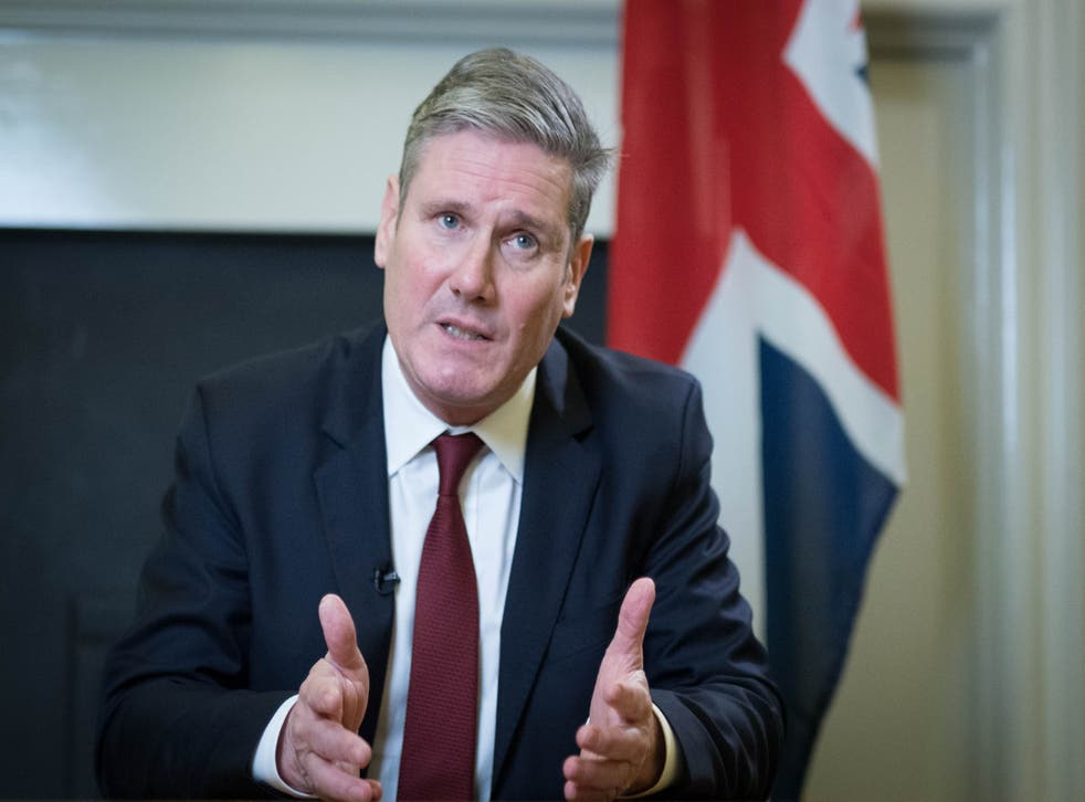<p>Starmer has determined Labour is a pro-business, patriotic party which is tough on issues such as crime and borders</p>