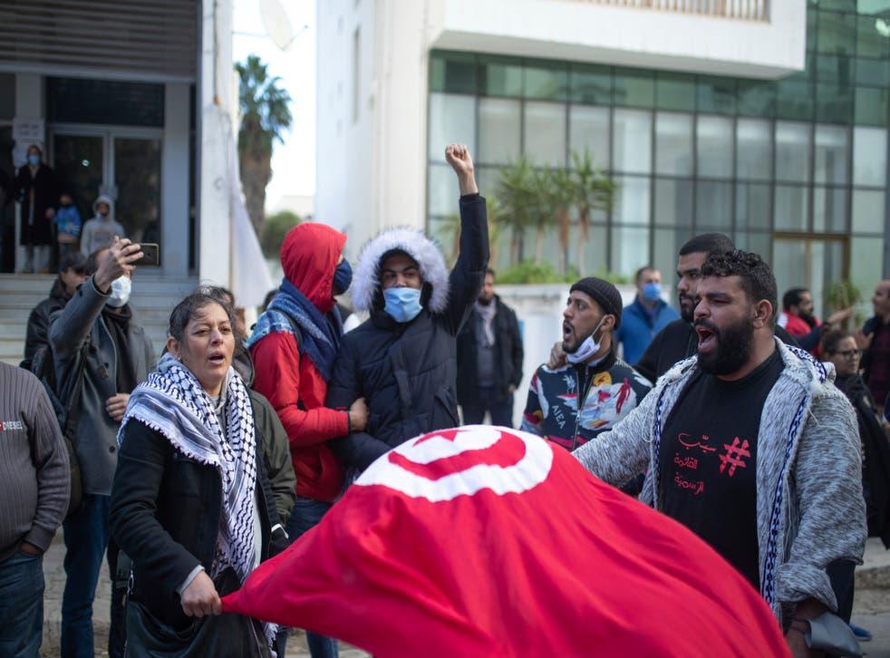 TUNEZ PROTESTAS