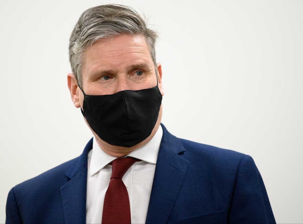 <p>In May, we may see the real Keir Starmer unmasked</p>