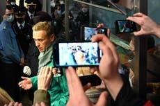 Alexei Navalny, crítico de Putin, detenido a su regreso a Rusia
