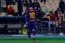 Messi es suspendido dos juegos tras ver su primera roja con Barcelona
