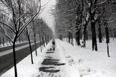 Winter weather hits parts of Europe, from Poland to Turkey