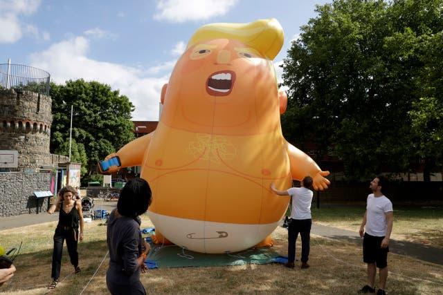 Britain Trump Baby Blimp