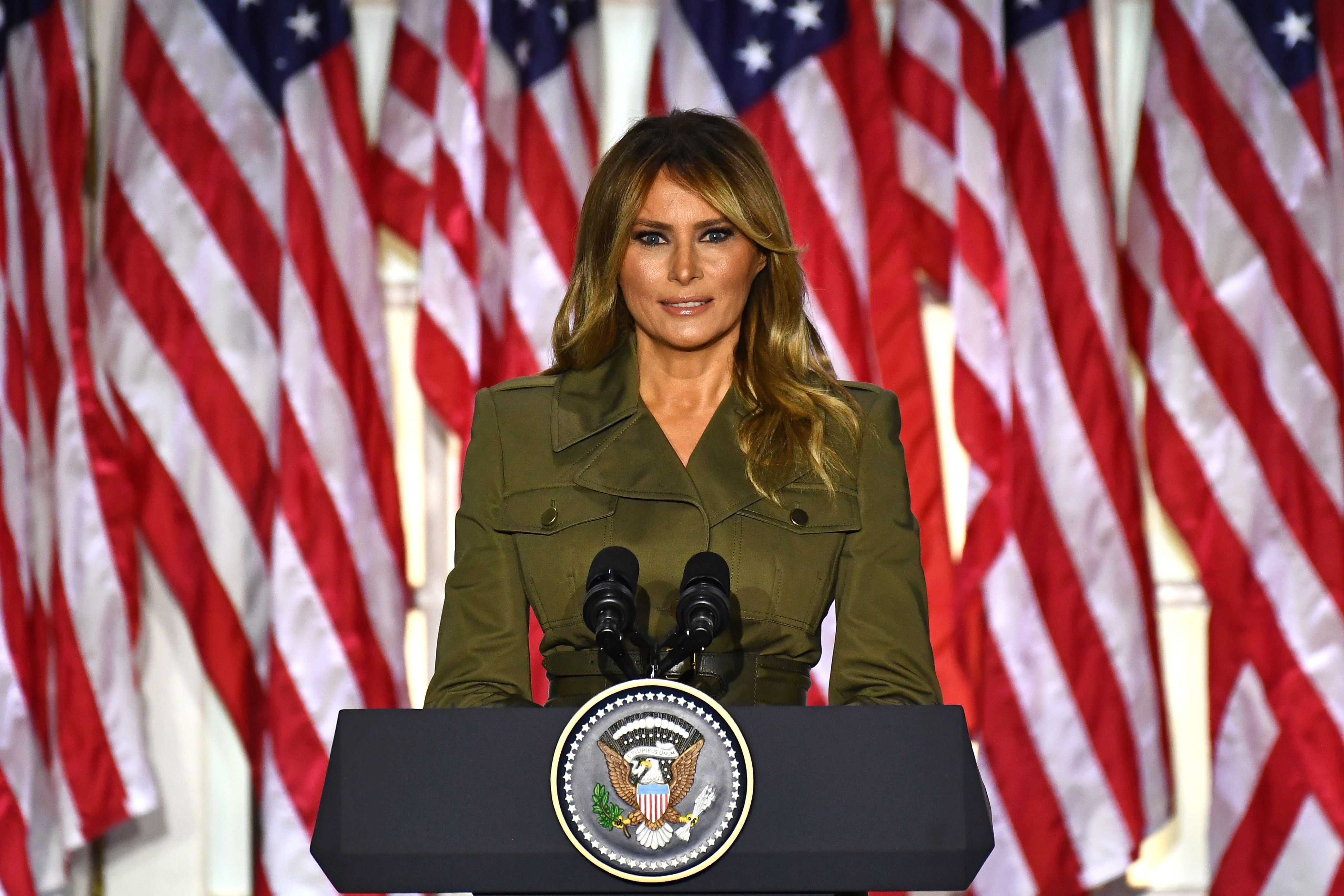 Melania Trump releases farewell video after making historical past by snubbing Jill Biden