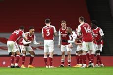 Arsenal golea a Newcastle y llega a media tabla en la Premier League