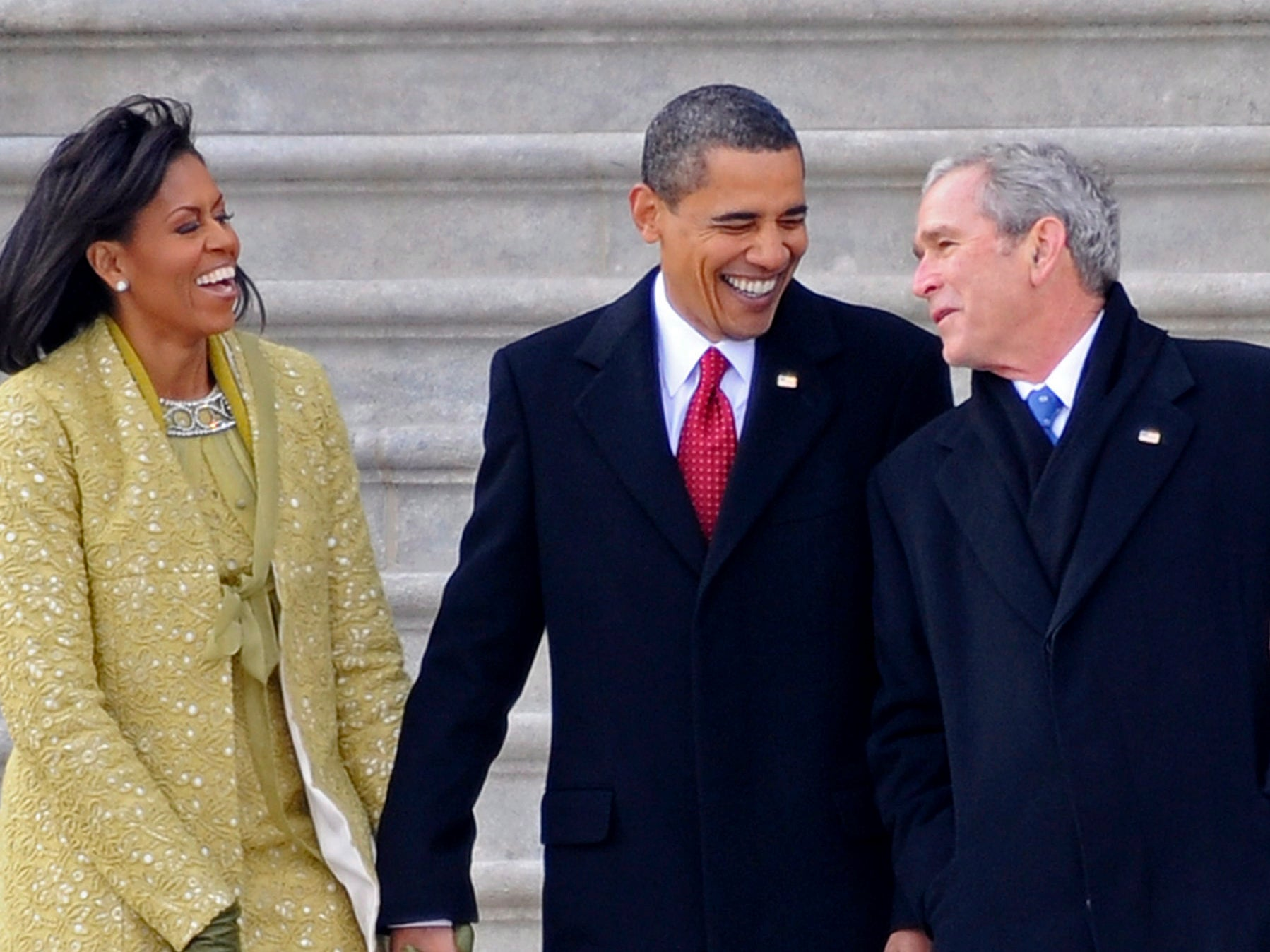 Barack, Bill and Dubya: How Democrats came to embrace George W Bush