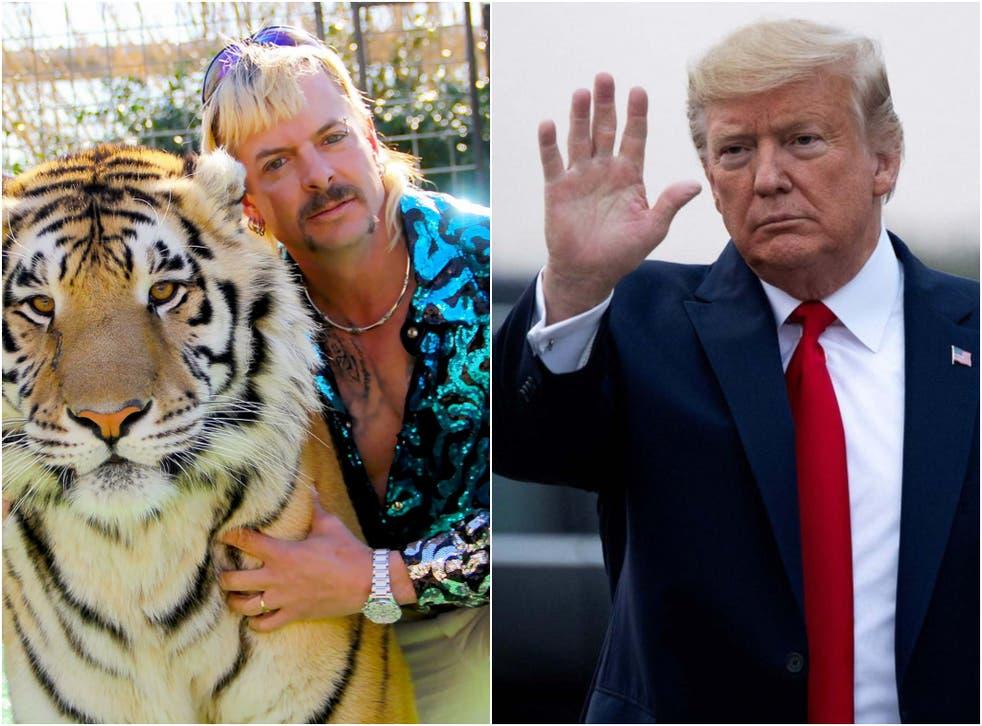 Twitter Says Trump Refused To Pardon Joe Exotic Because 'He Hates Joes''