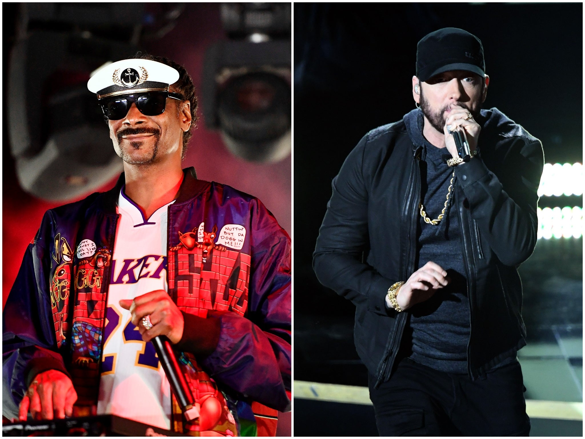 Snoop Dogg says former feud with Eminem is 'family business'