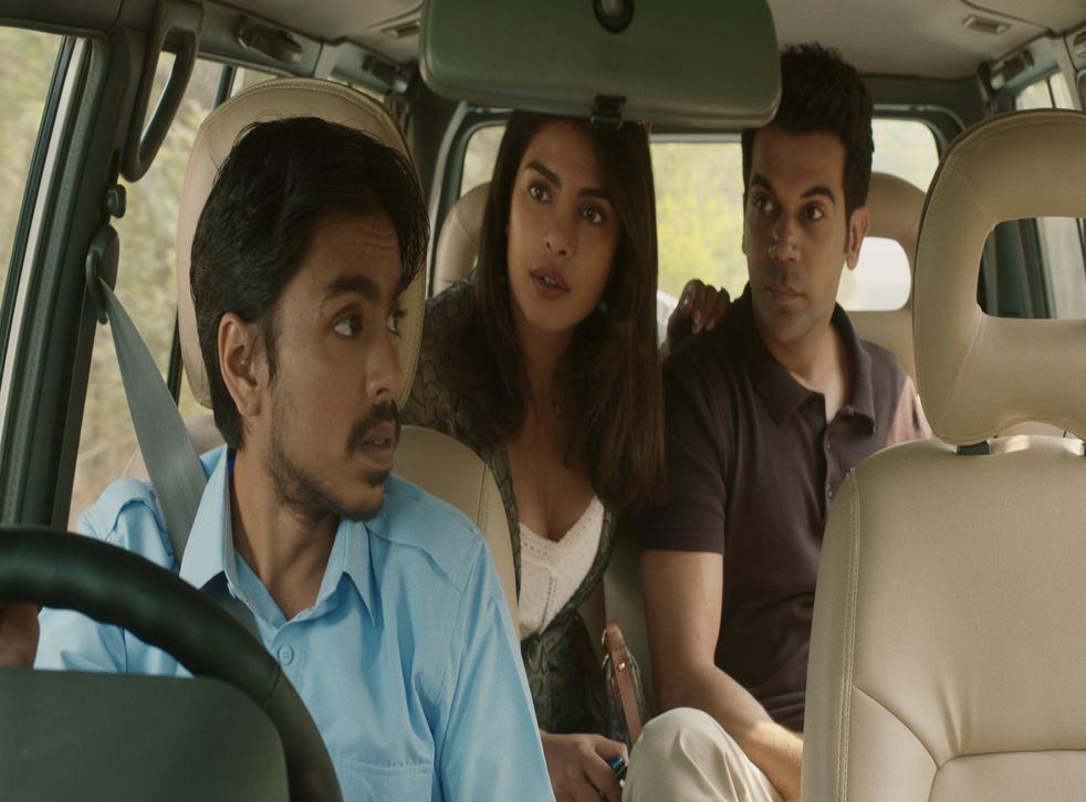 <p>Priyanka Chopra Jonas and Rajkummar Roa's characters hide their privilege behind different masks</p>