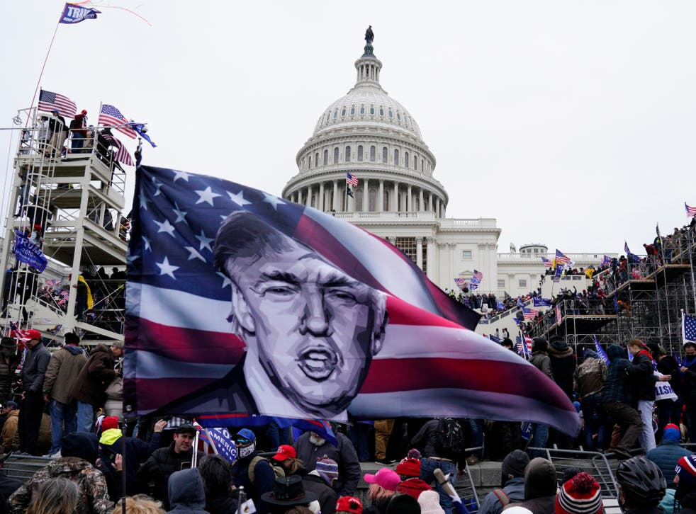 Trump supporters storm the US Capitol in his name