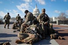 Cinco mil soldados de la Guardia Nacional permanecen en D.C. ante rumores de QAnon por supuesta inauguración de Trump