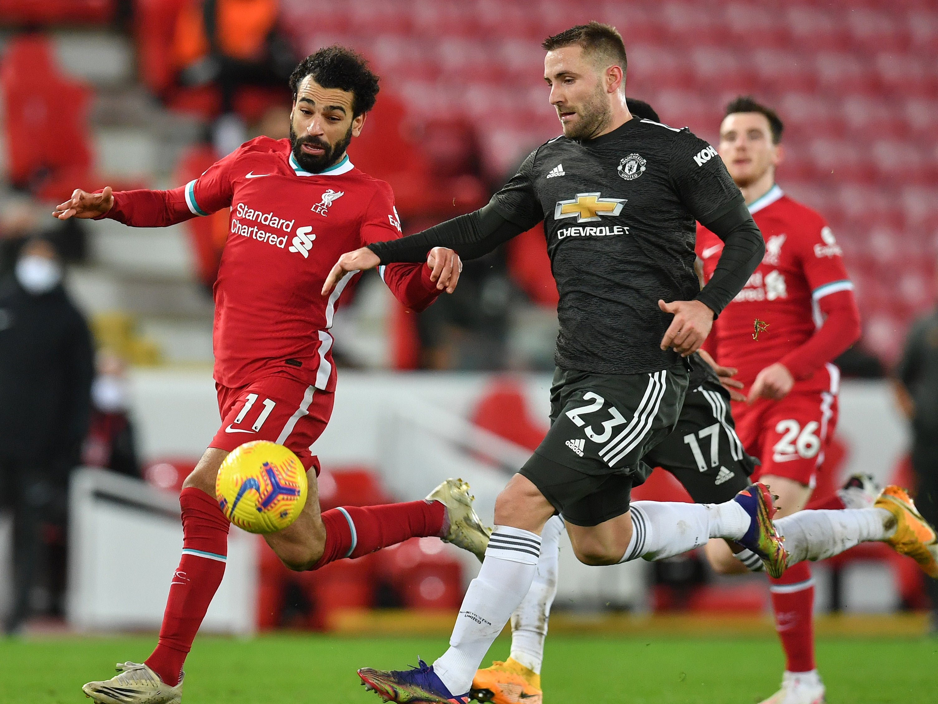 Luke Shaw: Ole Gunnar Solskjaer reveals one-on-one chats with in-form Manchester United defender