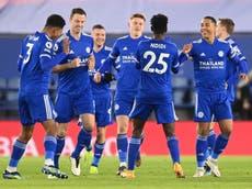 Premier League: Leicester supera al Chelsea y se instala en la cima