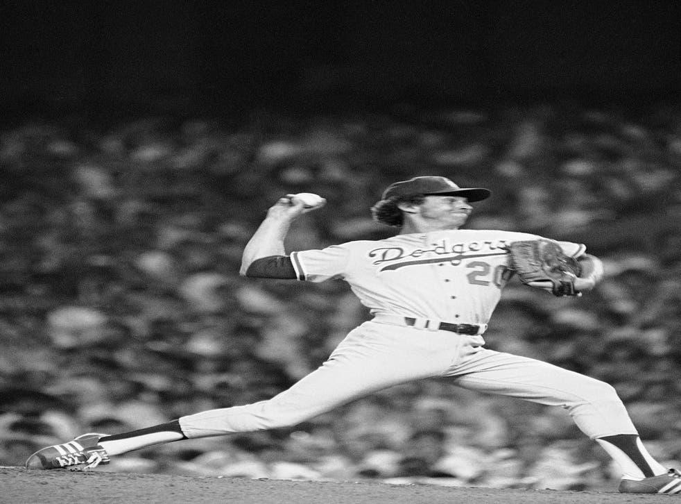 <p>Sutton jugó su última temporada con los Dodgers en 1988</p>