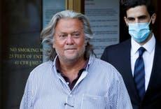 Donald Trump pardons controversial former adviser Steve Bannon