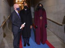 Investidura Presidencial: Michelle Obama recibe elogios por su atuendo