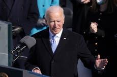 Biden promete unidad en su primer discurso como presidente de EE.UU