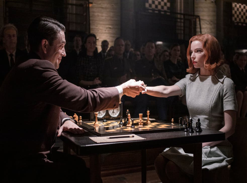 <p>'The Queen's Gambit' was one of the most-watched series on Netflix last year</p>