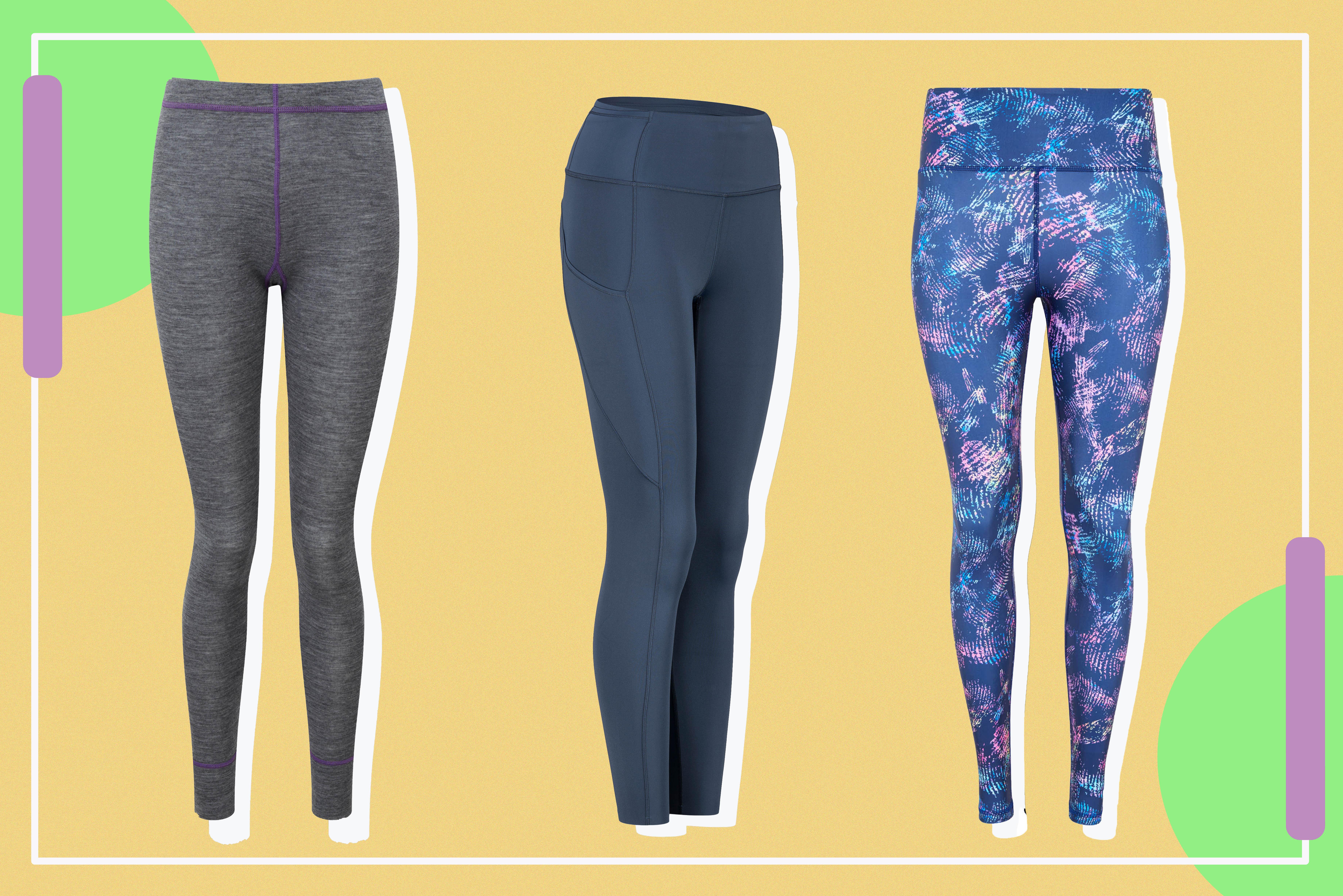 Montane Women/'s Power Up Pro Pants Fleece Leggings XS 8 Black Thermal Base Layer