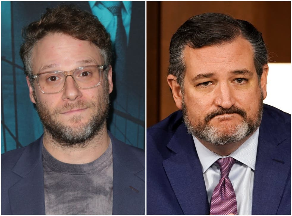 Seth Rogen dubs Ted Cruz a 'white supremacist fascist' in Twitter clash    The Independent