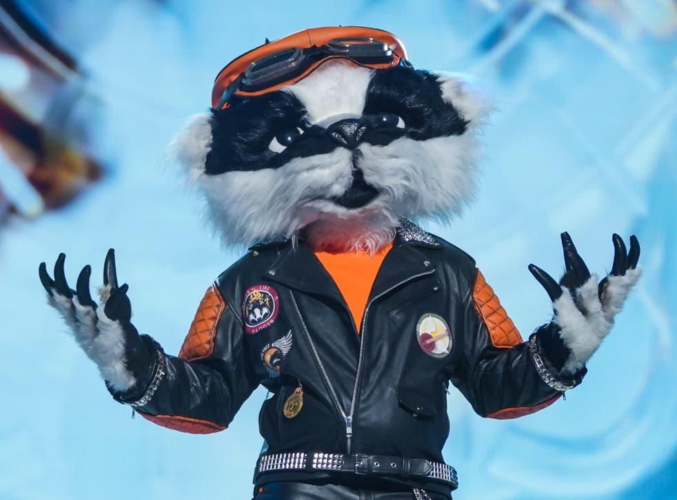 pThe mysterious Badger on The Masked Singer UK/p
