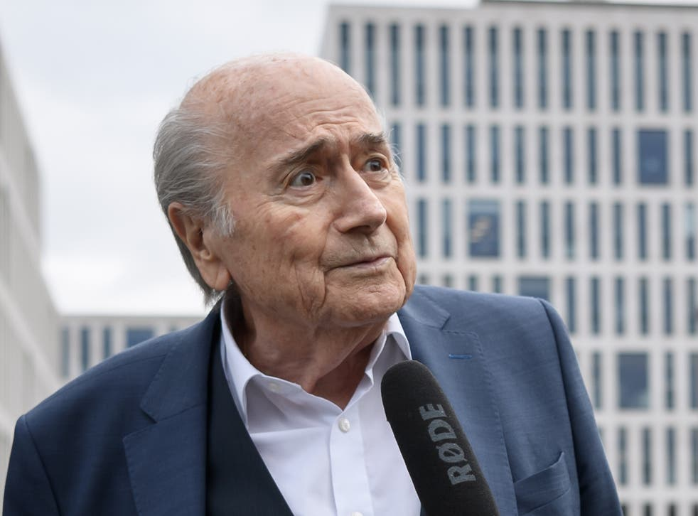 <p>Blatter has been handed an extended ban by Fifa</p>