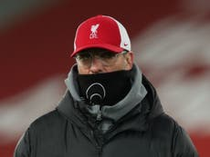 Klopp labels Liverpool's loss to Burnley 'a massive punch in the face'
