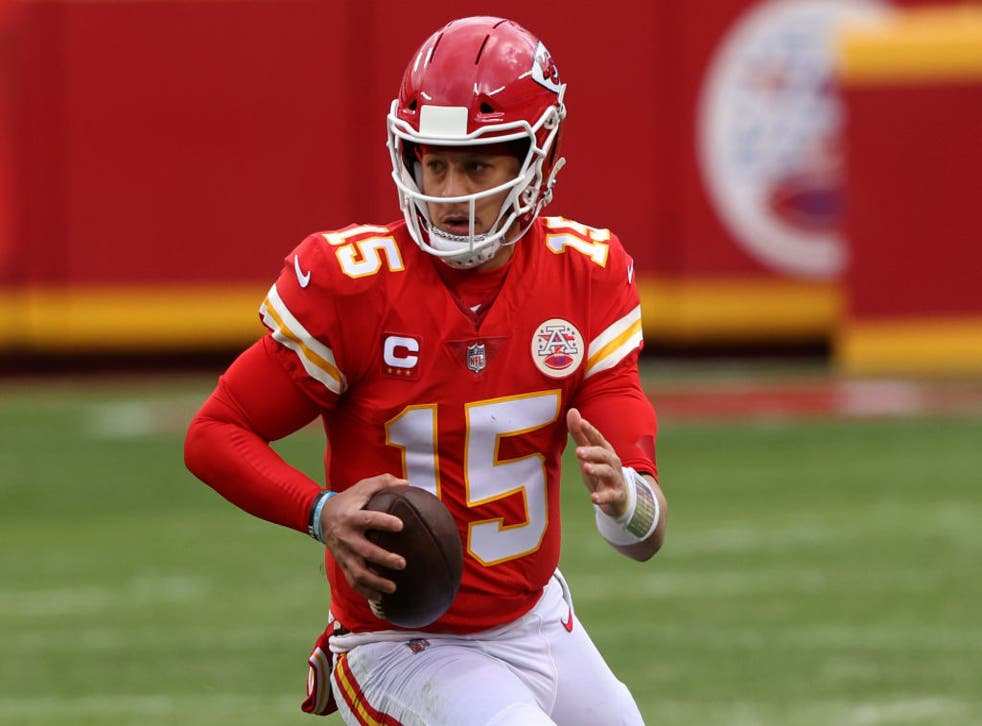 <p>Patrick Mahomes is a doubt for Sunday</p>