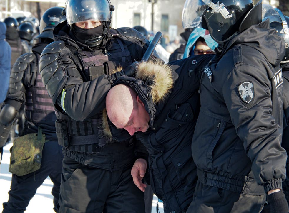 EUR-GEN RUSIA-NAVALNY PROTESTAS