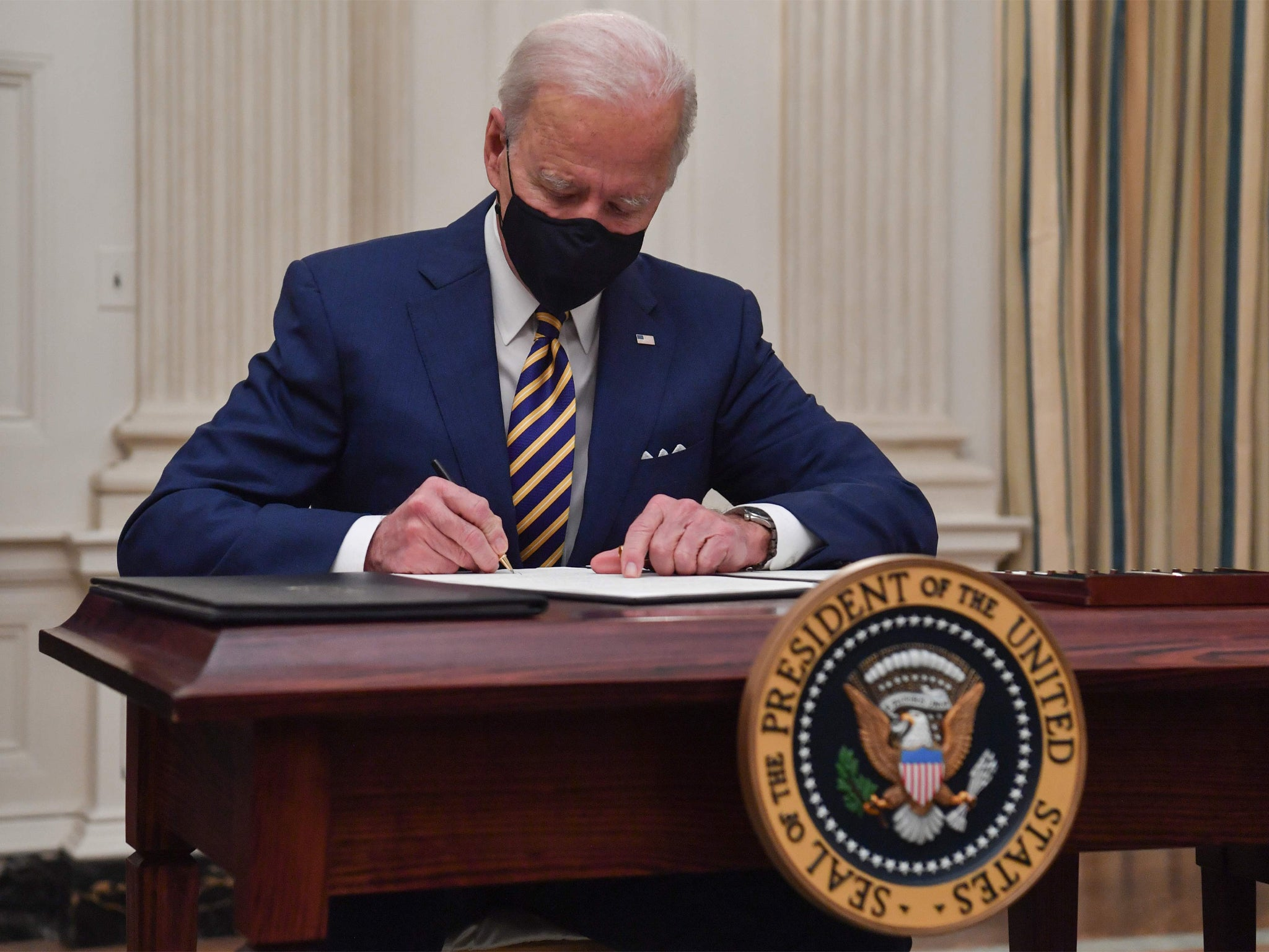 Biden's restoring of environmental rules rolled back by Trump could take years