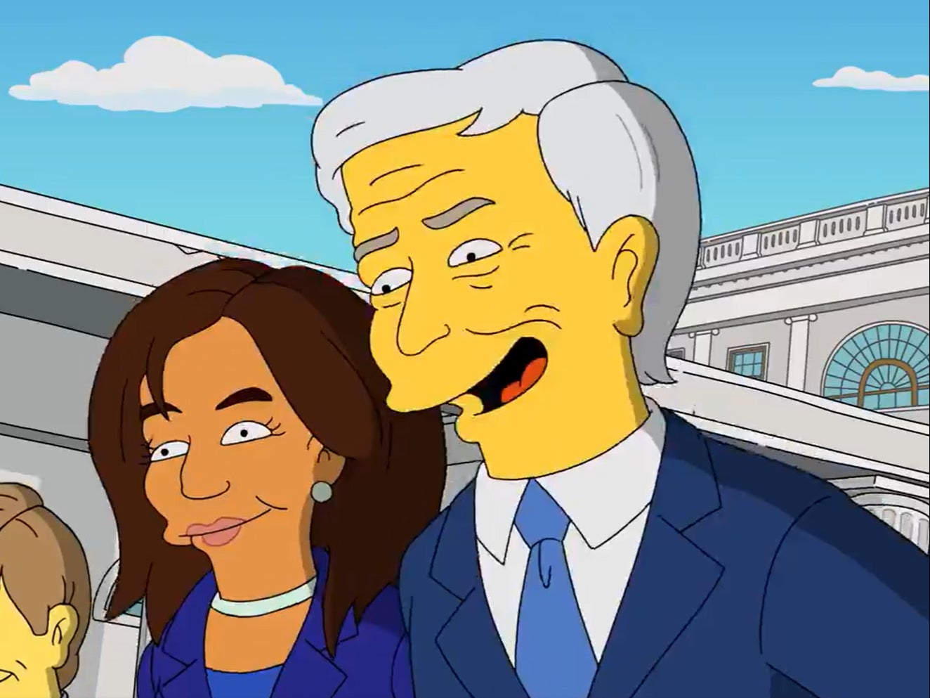 The Simpsons director shares Biden-Harris 'prediction' from 2019