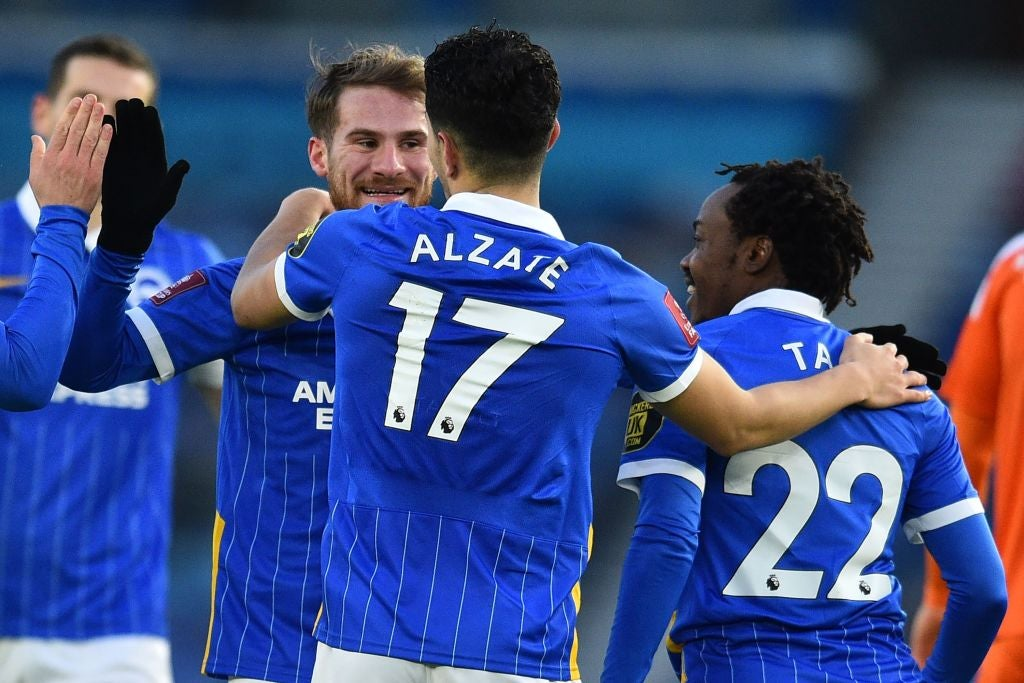 Bissouma rocket inspires Brighton as West Ham thrash Doncaster