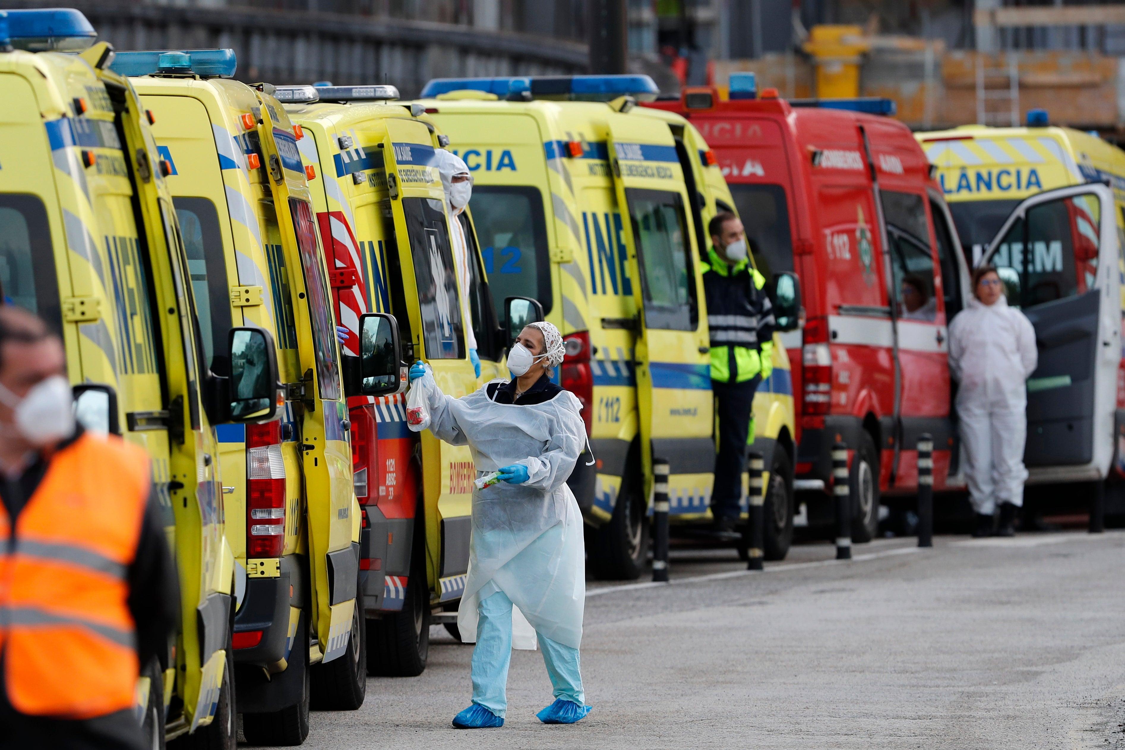 Portugal chooses a president amid a severe pandemic surge