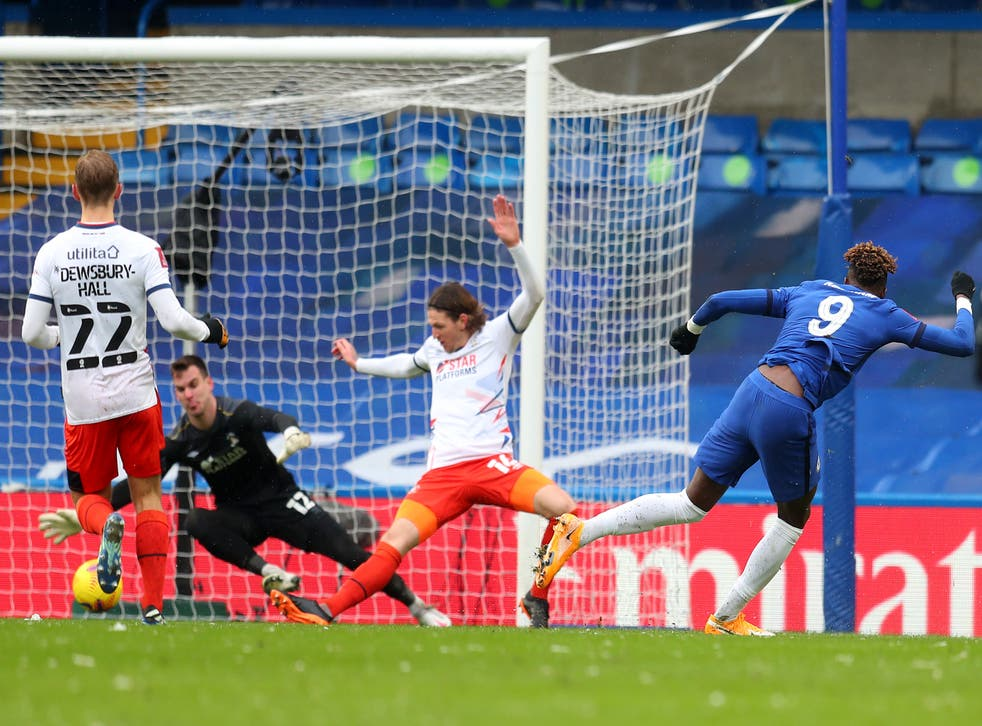 Tammy Abraham fires Chelsea in front