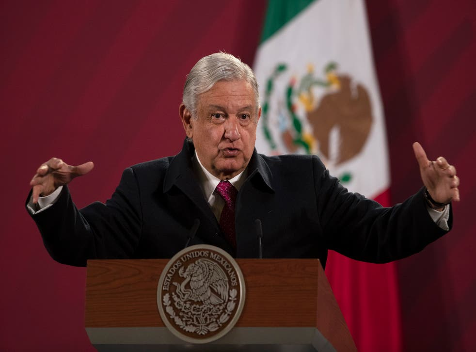 CORONAVIRUS-MEXICO-PRESIDENTE