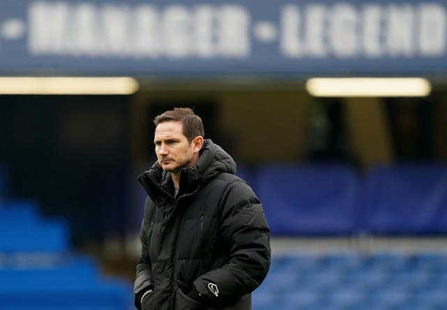 Frank Lampard's time as Chelsea manager is up